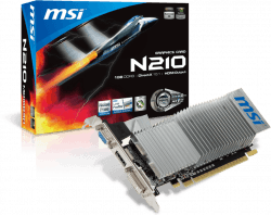 MSI N210 MD1GD3H/LP