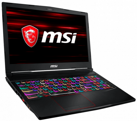 MSI GAMING GE63 RAIDER RGB 8SE