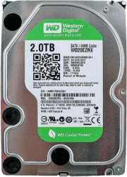 WD WD20EARX Green